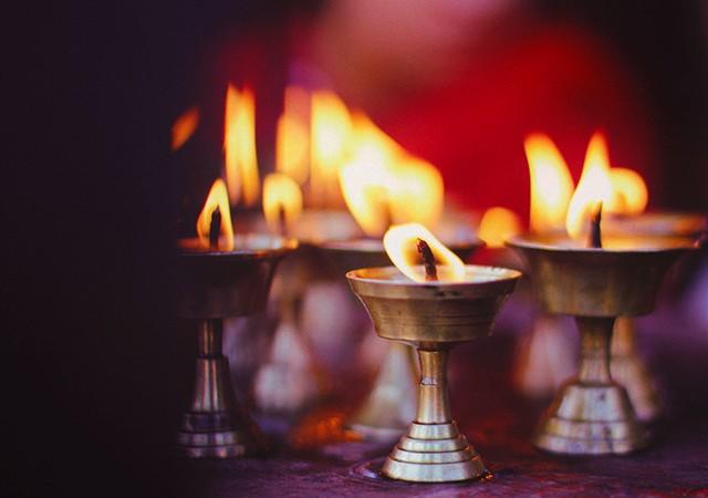 Meditation Kerzen