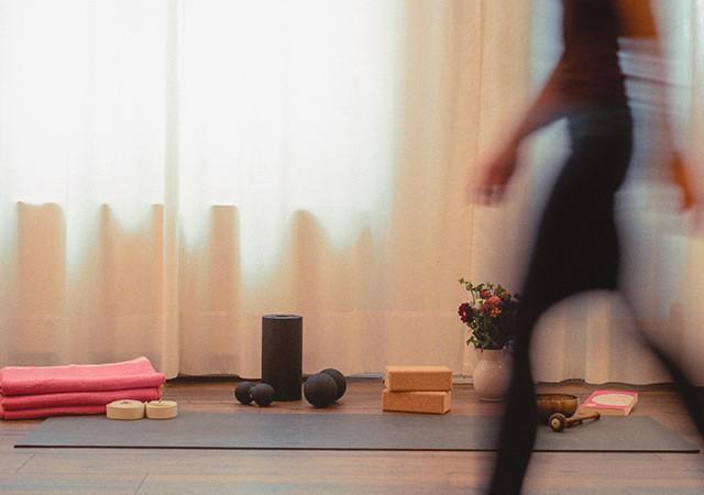 Yoga Ritual zur Matte gehen