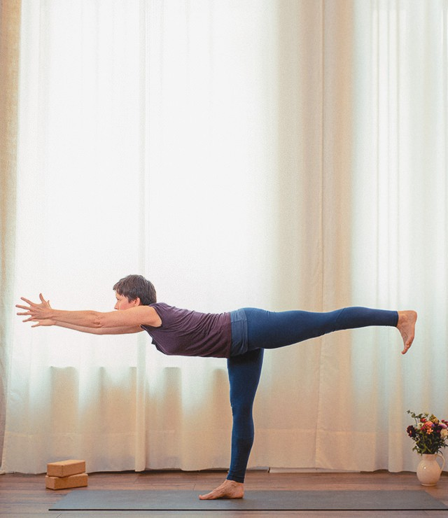 Yoga Ritual Standhaltung